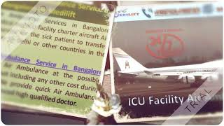 Utilize Medical Facility Air Ambulance Service in Bangalore