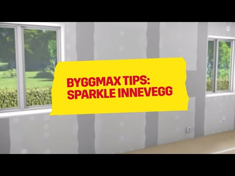 Byggmax tips, Sparkle innevegg