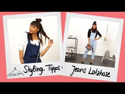 Latzhosen Lookbook – Jeans Latzhose