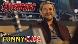 Avengers Age of Ultron Funny Clips in HINDI