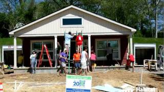 Time Lapse House Build - Knoxville Habitat for Humanity Blitz Build 2011