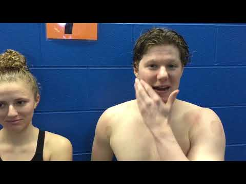 Video: SH swimmers