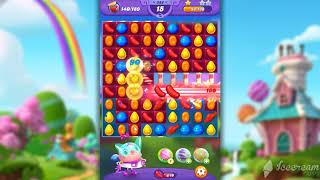 Candy Crush Friends Saga Level 338 - NO BOOSTERS