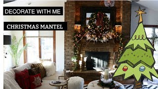 DECORATE CHRISTMAS MANTEL WITH ME RALPH LAUREN STYLE!