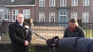Initiatiefgroep Red het oude Klooster over weteringplan