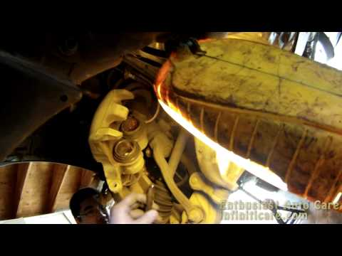 DIY: 2009 Infiniti FX35 AWD Front Wheel Hub Assembly Removal