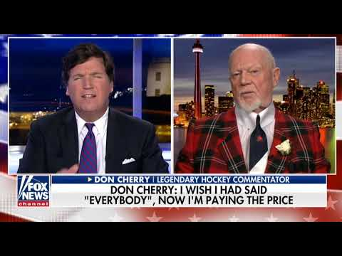 Tucker Carlson interviews Don Cherry