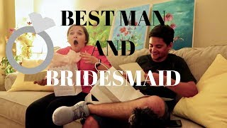 ASKING THEM TO BE BRIDESMAID AND BEST MAN! (super cute reaction)