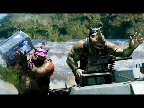 Teenage Mutant Ninja Turtles: Out of the Shadows (Trailer 'Bebop & Rocksteady')