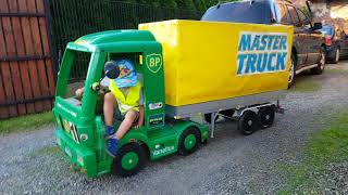 Master Truck 2018, Electric Mercedes Truck for Kids