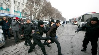 """21 мая Митинги в Алматы крики """"кет шал"""""""