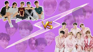 Difference between TXT and BTS