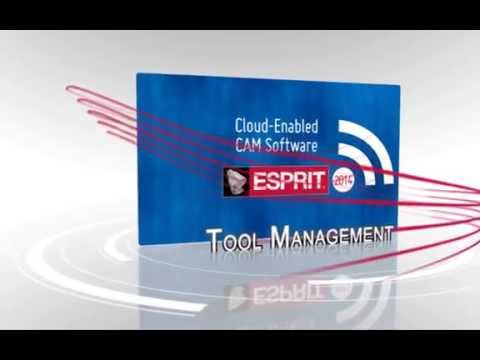 Tooling Highlights - ESPRIT 2014 Cloud-Enabled CAM Software