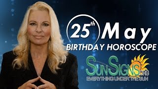 Birthday May 25th Horoscope Personality Zodiac Sign Gemini Astrology