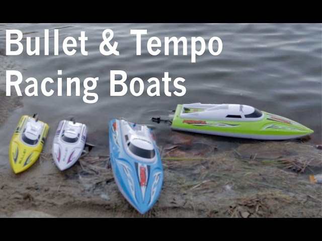 UDI Bullet & Tempo RC Powered High Speed Racing Boats Review