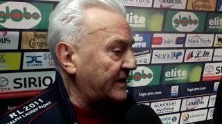 Franco Fedeli commenta l'1 a 1 fra Samb e Triestina