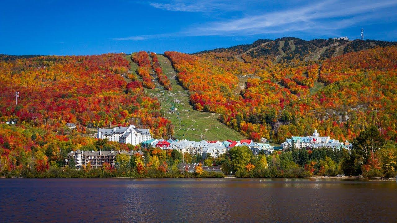 Résultats de recherche d'images pour «mont tremblant couleur d'automne»