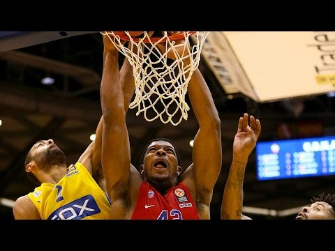 Highlights: RS Round 6, Maccabi FOX Tel Aviv 82-88 CSKA Moscow