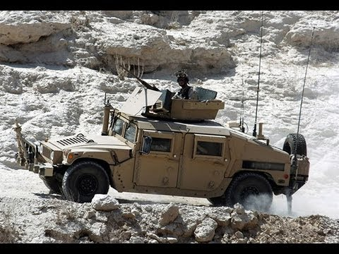 "USA Special Operation Forces HMMWV ""HUMMER"" Tour"