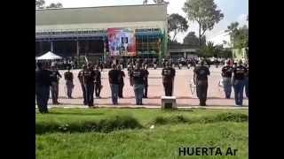 Honores a la Bandera Nacional Calderon 2015