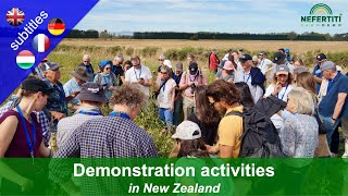 Forms of agricultural demonstration activities in New Zealand