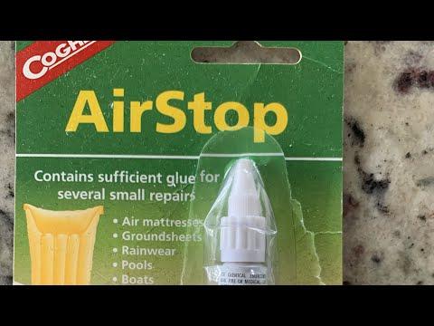 How to repair an Intex airbed / air matress seam hole