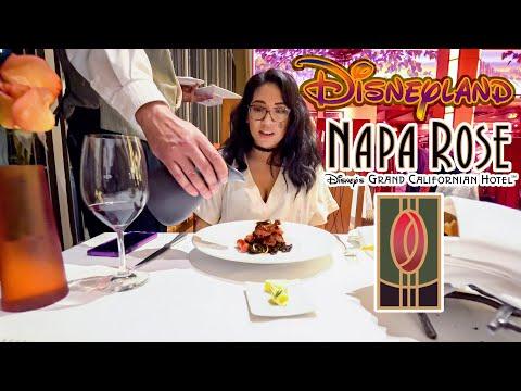 The Napa Rose is Disney's Award Winning Restaurant!