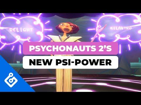 Psychonauts 2: Présentation du pouvoir psi, la connexion mentale de Psychonauts 2