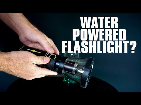 HydraLight Review: Water-Powered Flashlight?