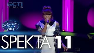 GHEA ft. OSVALDORIO - SEWINDU (Tulus) - Spekta Show Top 5 - Indonesian Idol 2018