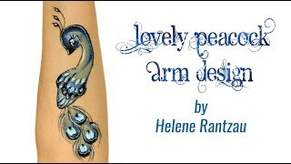 Lovely Peacock Arm Design Video By Helene Rantzau