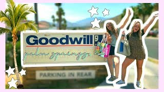 THRIFTING IN PALM SPRINGS! | SO MANY 90's GEMS