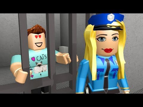 I FELL IN LOVE WITH A POLICE OFFICER IN JAILBREAK - Roblox Adventures