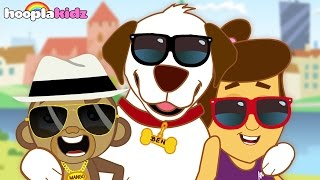 Rig A Jig Jig   Nursery Rhymes Collection By HooplaKidz With Annie Ben and Mango