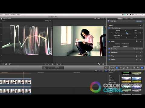 Final Cut Pro X Color Correction Tutorials Popular And