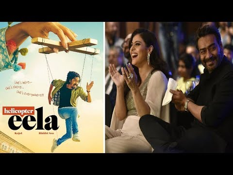 Helicopter Eela Film Poster Out   Kajol   Latest Bollywood Movie Gossips 2018 English