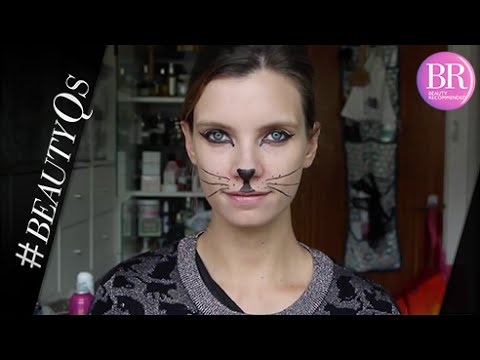 #ad | Easy Cat Makeup Tutorial With Just An Eyeliner | A Model Recommends