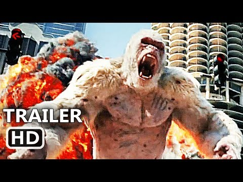 RAMPAGE Official Trailer (2018) Dwayne Johnson, Giant Ape, Action Movie HD
