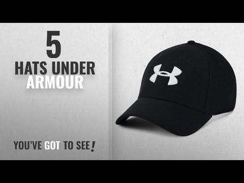 Top 10 Hats Under Armour [2018]: Under Armour Men's Blitzing 3.0 Cap