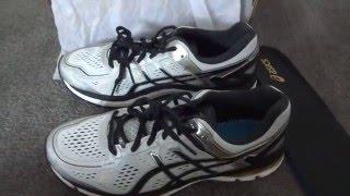 UNBOXING ASIC Gel Kayano 22 Men Shoes