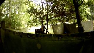 preview picture of video 'Paintball FPS Maastricht. First ever walk on day on this field. 30-08-2009'