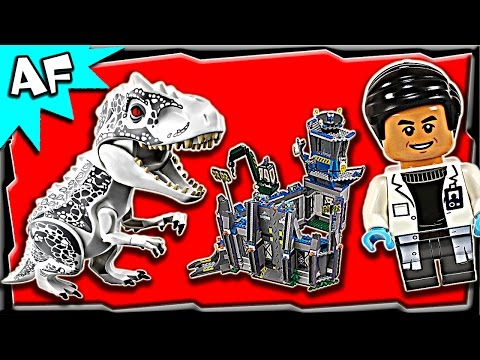 Vidéo LEGO Jurassic World 75919 : L'évasion d'Indominus Rex