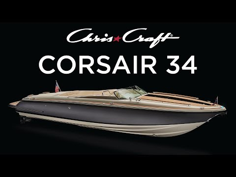 Chris-Craft Corsair 34video