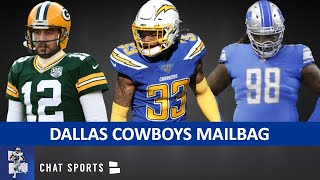 Derwin James To Cowboys? Trade For Aaron Rodgers? Sign Dez Bryant, Damon Harrison? | Cowboys Mailbag