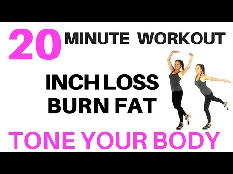 EXERCISE AT HOME - 20 MINUTE WORKOUT TO LOSE WEIGHT, BURN CALORIES ,TONE YOUR BODY FOR WOMEN AT HOME