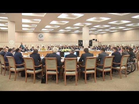 Репортаж  с итогового заседания Общественной палаты Республики Башкортостан четвертого состава