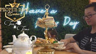 British Afternoon Tea Experience 🍵@ Proper Rose Garden | Katy , TX