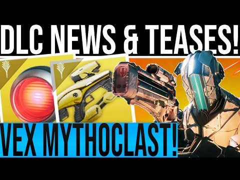 Destiny 2. VEX MYTHOCLAST & VAULT OF GLASS TEASE! Cross Play, New Worlds, Taken King Stats, Artifact