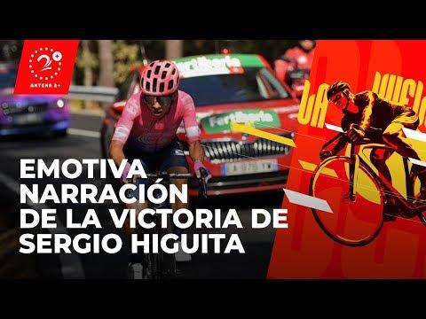 Sergio Higuita gano la etapa 18. Este fue el emotivo relato de la victoria