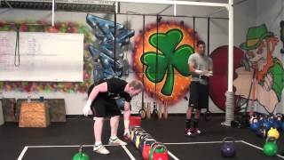 KB Sport Pentathlon Workout 11-3-13
